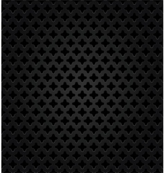 Abstract metal dark background vector image
