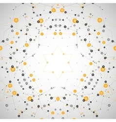 Background pattern network Design dots and vector