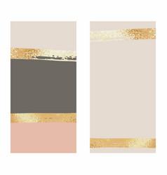 Background with rose gold foil for social media vector