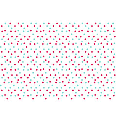 classic bacolor background random dots polka vector image