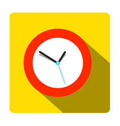 clock icon time symbol vector image