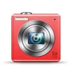 Easy camera icon vector image