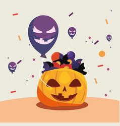 Happy halloween day vector