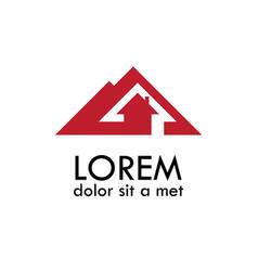 Home arrow logo vector