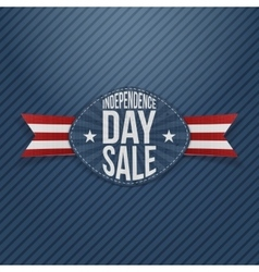 Independence Day Sale scratched Tag vector