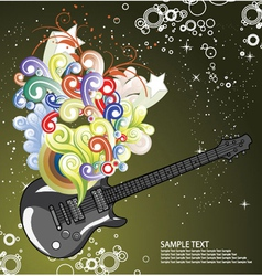 Music wallpaper vector