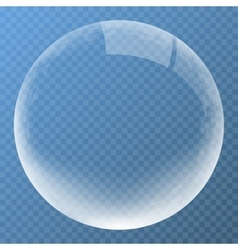 Best bubble with glare icon vector