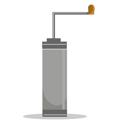 Coffee grinder or color vector