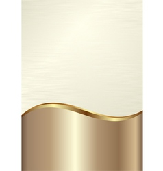 Cream background vector