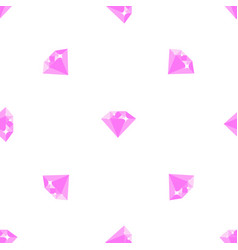 diamond pattern on white background vector image