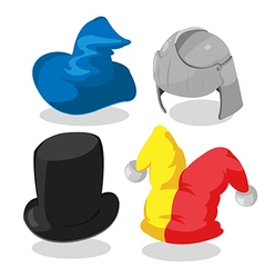 Fantasy Hat Cartoon Design Graphic vector image