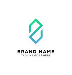 initial z logo design vector image