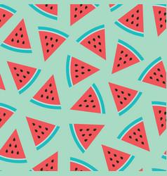 Watermelon seamless pattern image vector