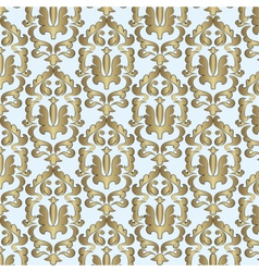 Classic style damask ornament pattern vector