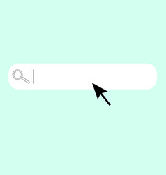 search bar vector image vector image