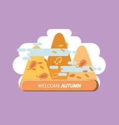 seasonal weather design vector image vector image