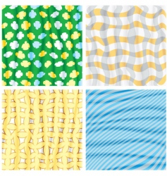 funky backgrounds vector image vector image