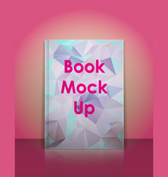 book mockup template Ready to place your vector image