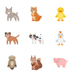 Farm production zoo and other web icon vector
