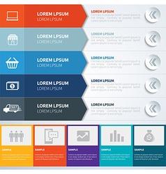 Infographics set templates vector