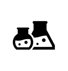 Lab experiment icon vector