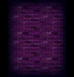 Purple rectangle brick wall vector