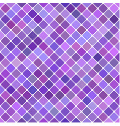 purple seamless diagonal square pattern vector image