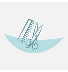 Barber tools vector