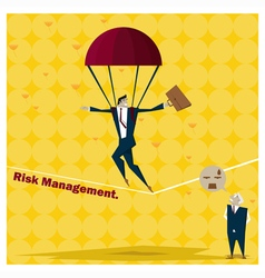 Business Idea series Risk Management concept 1 vector