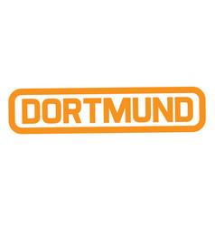 Dortmund stamp typ vector