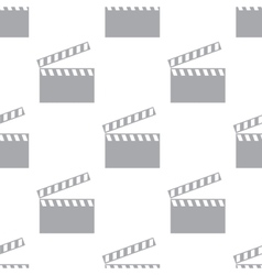 New Film seamless pattern vector image