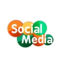 Social media banner vector image