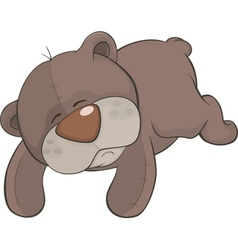 Toy bear cartoon vector image
