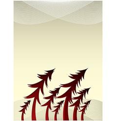 Card invitation background vector image