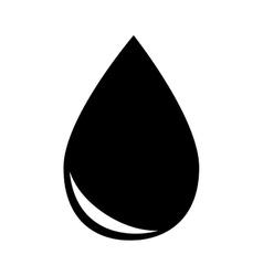drop gasoline oil isolated design vector image