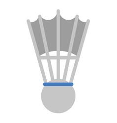 badminton shuttlecock sport game vector image