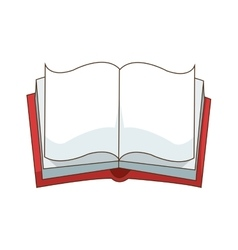 Isolated book design vector image vector image