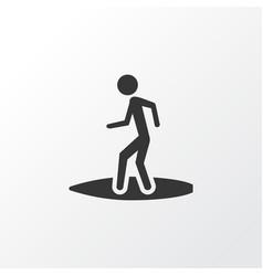 surfer icon symbol premium quality isolated vector image