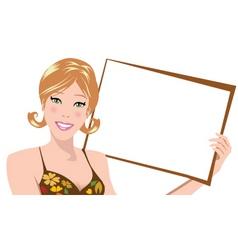 brown board vector image vector image