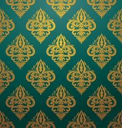 Retro Ornament Pattern vector image vector image