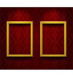 Two lightened frames vector image
