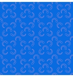 Bubbles chaotic seamless pattern 4307 vector
