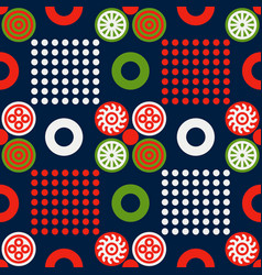 Chinese regular seamless pattern vector