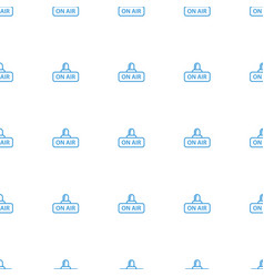 Open air icon pattern seamless white background vector