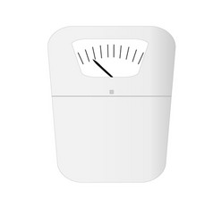 weight scale device icon vector image