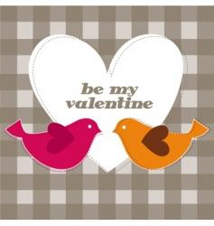 lovebirdies vector image
