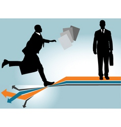 business risk vector image