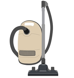 Vacuum cleaner vector image