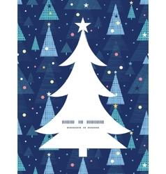 abstract holiday christmas trees Christmas tree vector image vector image