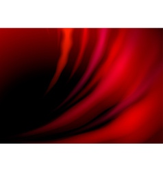 Abstract red hot waves vector image vector image